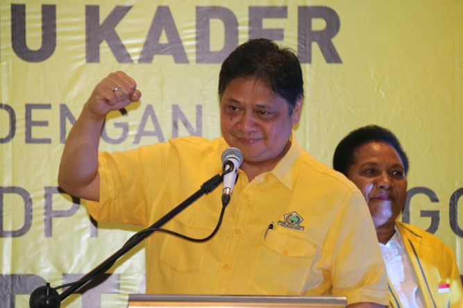 Ketua Umum DPP Golkar, Airlangga Hartanto