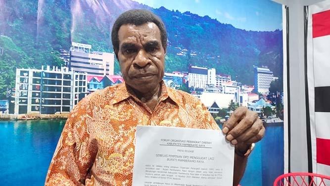 Bupati Mamberamo Raya Di Gugat Ke Ptun Jayapura Nokenlive Berita Papua Terkini